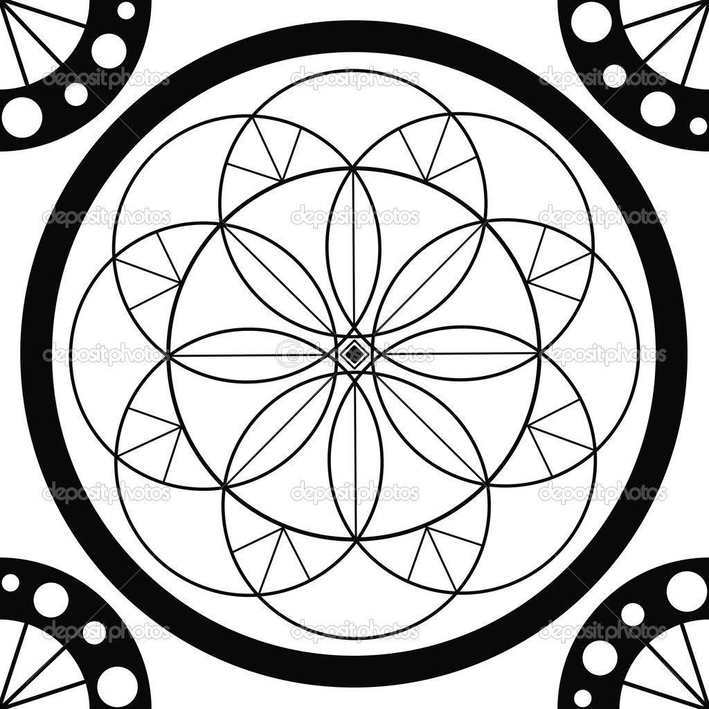 geometric line art geometric line art drawing coloring page