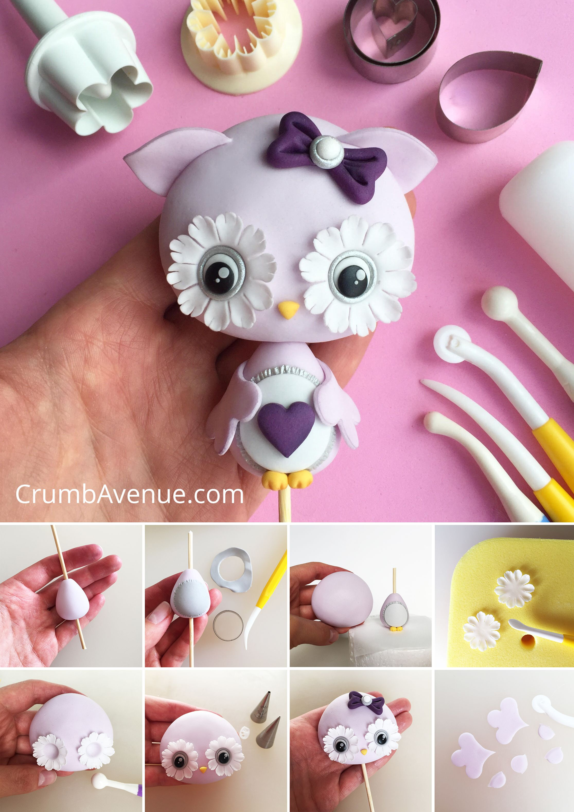 How to weave an owl from gum