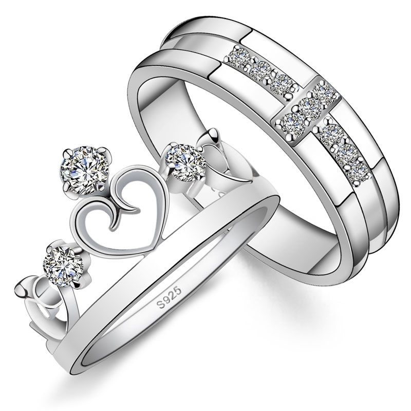 Wedding Ring Design Ideas 100 engagement rings wedding rings you dont want to miss His N Hers Engagement Matching Rings