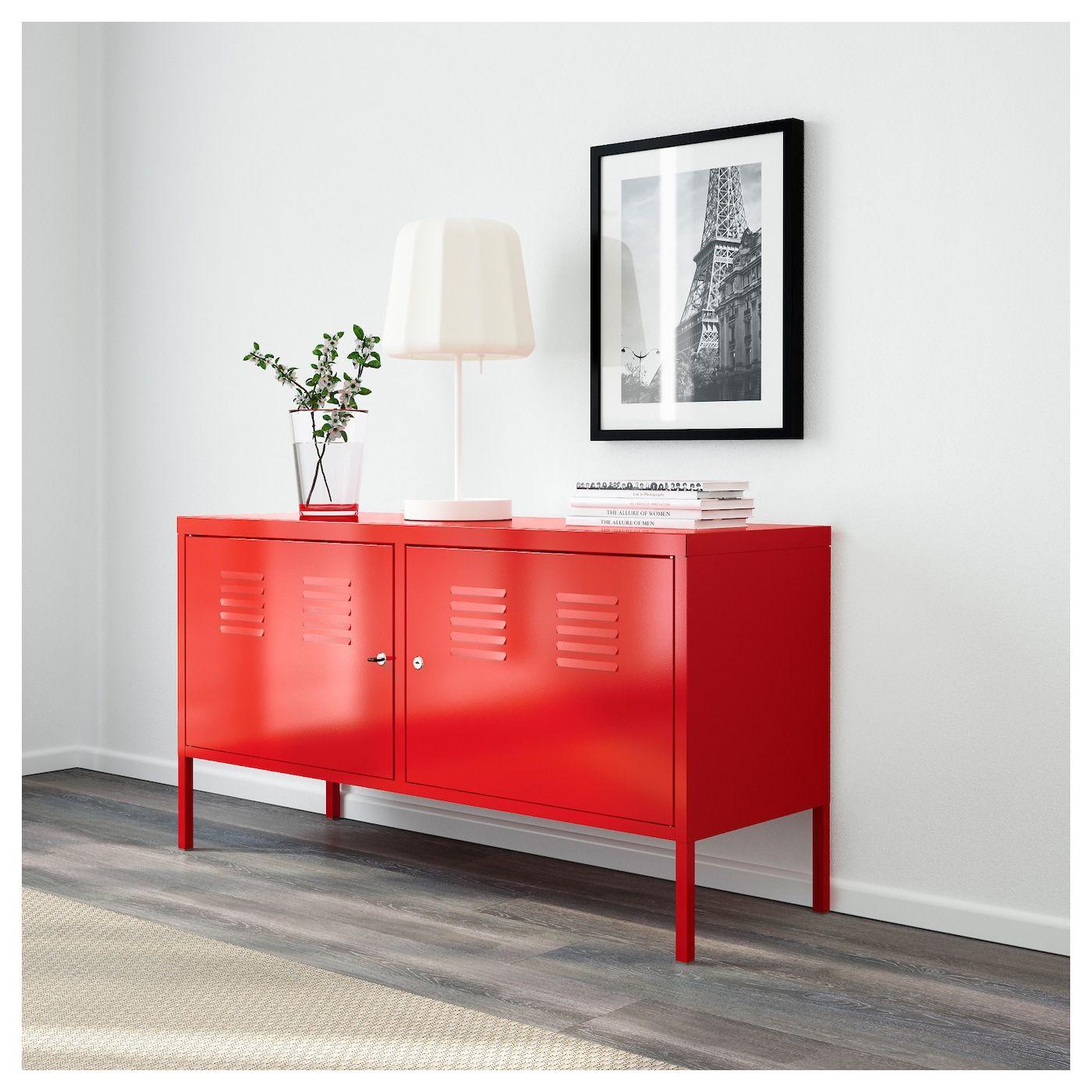 Ps Armoire Metallique Rouge 46 7 8x24 3 4 119x63 Cm Avec Images Meuble Metal Ikea Mobilier De Salon Armoire Metallique
