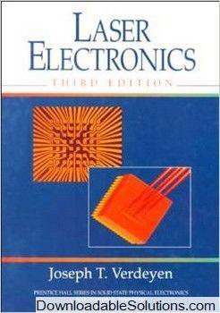 laser electronics 3rd edition joseph t verdeyen solutions manual rh pinterest com Army Electronic Manuals Basic Electronics Manual
