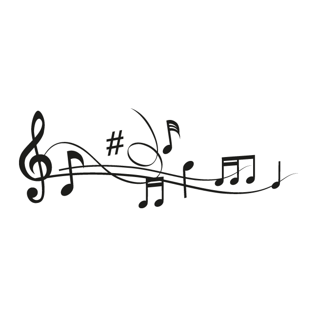 c7a29c99e2cd Vinilos Decorativos Pentagrama Musical Music Tattoo Designs