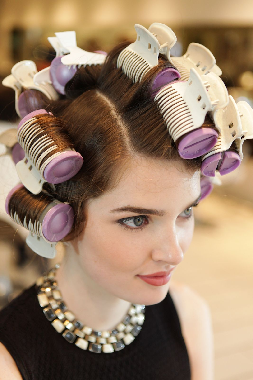 How To Use Hot RollersCute Curly Styles Hot rollers