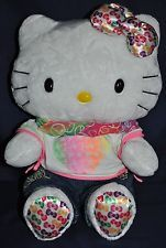 Hello Kitty Build A Bear 35th Anniversary Sanrio Plush w/Ear Bow & clothes NWOT #ForSale #MakeanOffer $69.98