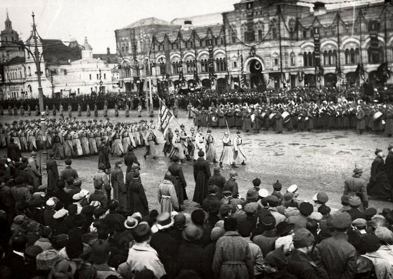 Soviet Union, Moscow, Red Square parade