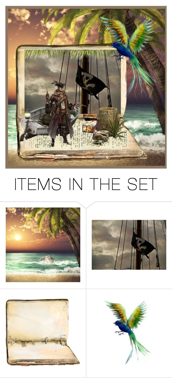"""Dead Men DO Tell Tales ..."" by krusie ❤ liked on Polyvore featuring art"