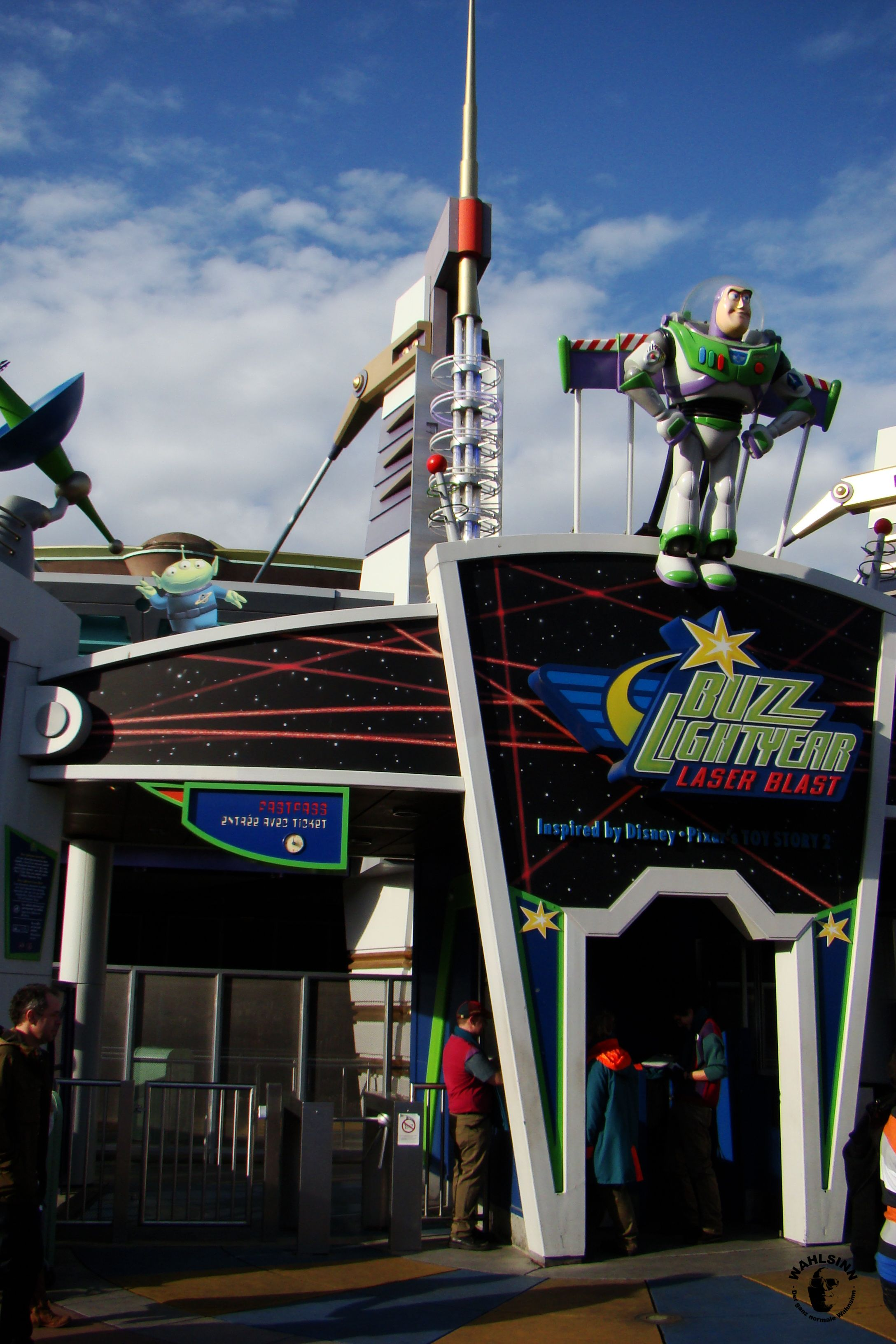 Disneyland Paris - Buzz Lightyear