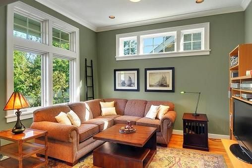 Paint Color Trends To Transform Your Living Space Brown Living Room Family Room Paint Colors Sage Green Living Room