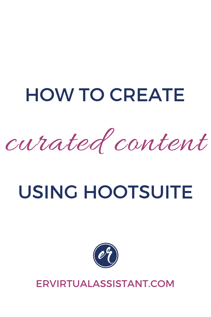 Today Let S Look At How We Can Use Hootsuite To Schedule Curated Content Watch Th Content Curation Marketing Strategy Social Media Online Marketing Promotion