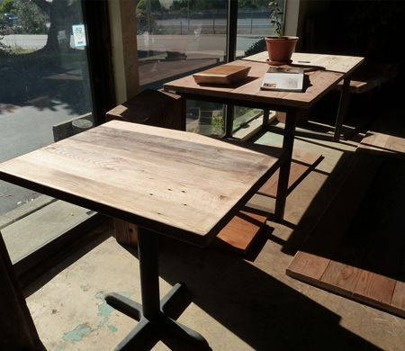 Blacku0027s Farmwood Custom Builds One Of A Kind Reclaimed Wood Tables And  Benches For Commercial Projects In The San Francisco Bay Area.