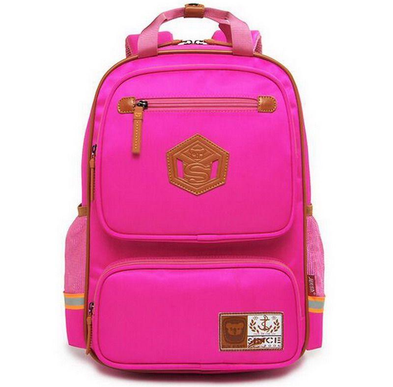 Orthopedic Children School Bags For Boys Girls Waterproof Kids ...