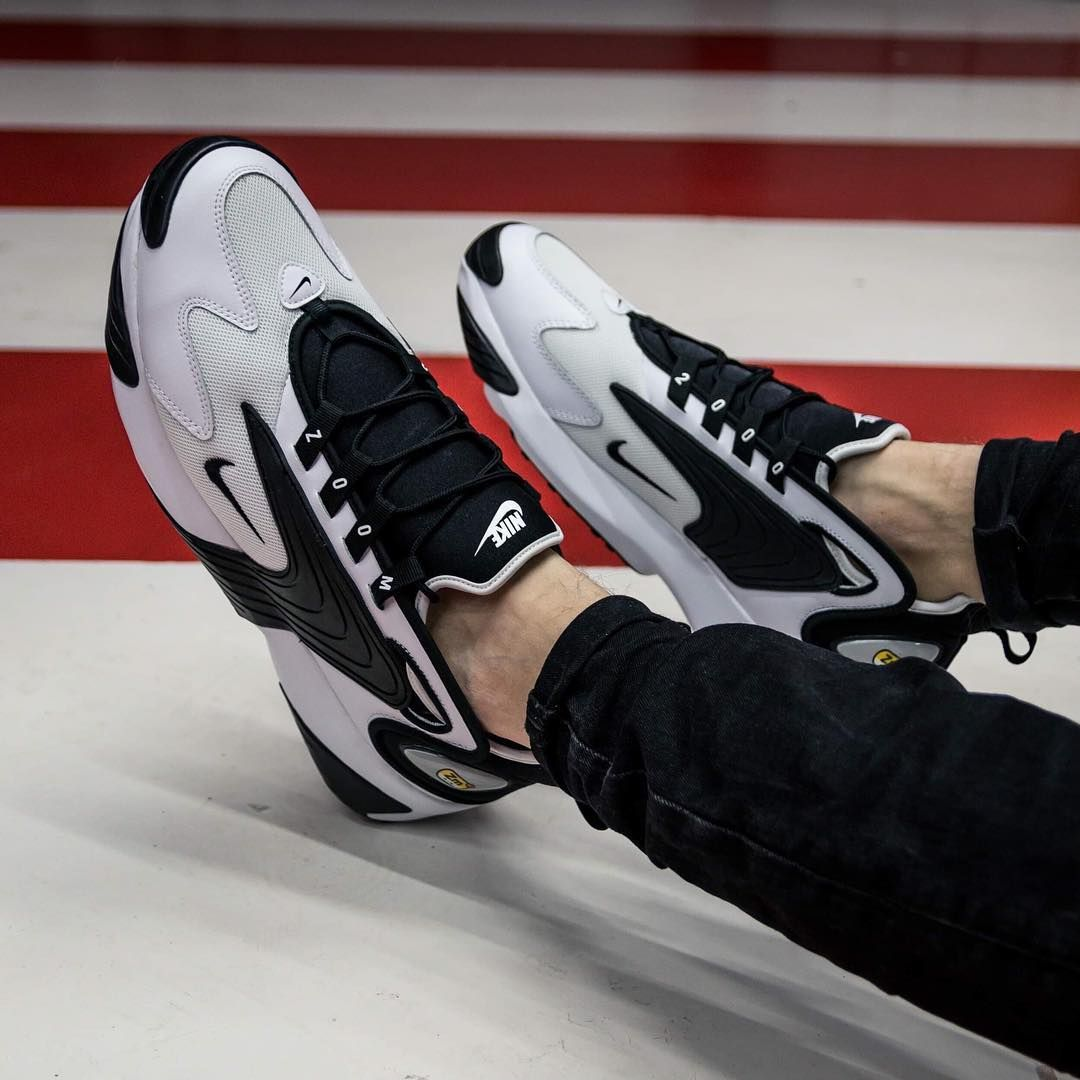 """Nike Zoom 2K """"White\u0026Black"""" available in"""