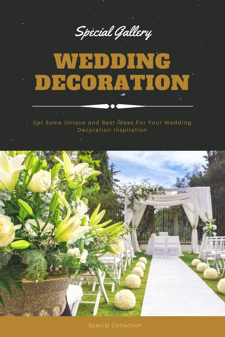 Wedding decoration designs  Redecorate Your Current Wedding Reception With These Unique Budget