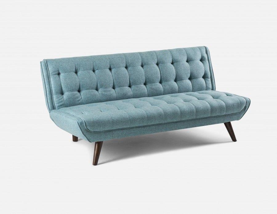 Miloh Sofa Bed Blue Sofa Sofa Bed Modern Sofa Bed