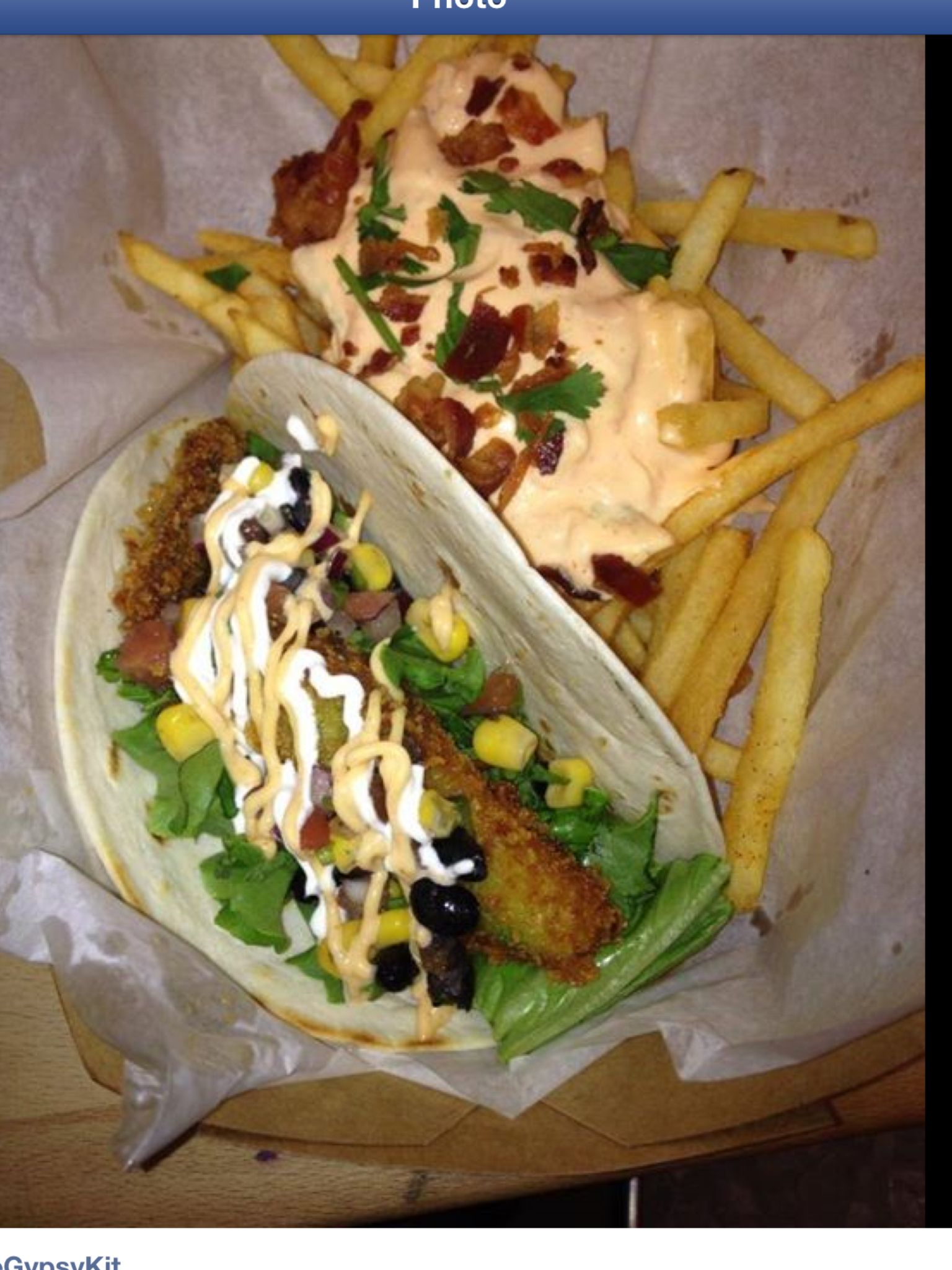 Fried Avocado Taco! TheGypsyKit!!
