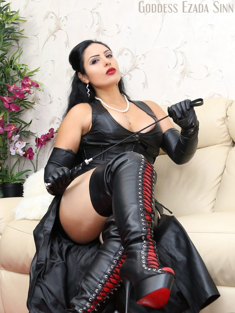 Miss wife leather boots worship porno