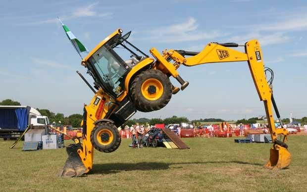 Jcb Hit By By 11m One Off Cost Heavy Machinery Construction News Monster Trucks