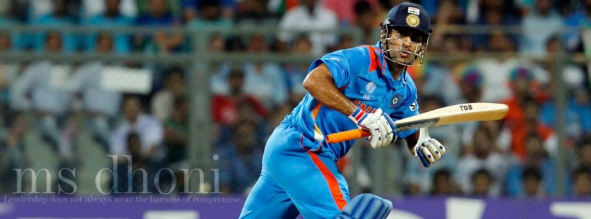 Ms Dhoni Facebook Cover