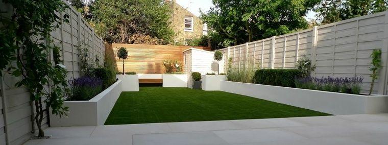 Cl tures et palissades de jardin modernes for Jardin urbain moderne