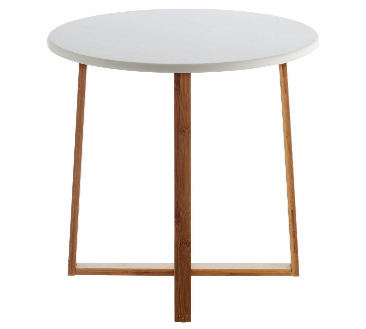 Buy Habitat Drew Low Side Table Bamboo Side Tables Table