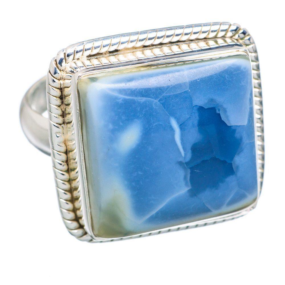 Owyhee Jasper 925 Sterling Silver Ring Size 9 RING691061