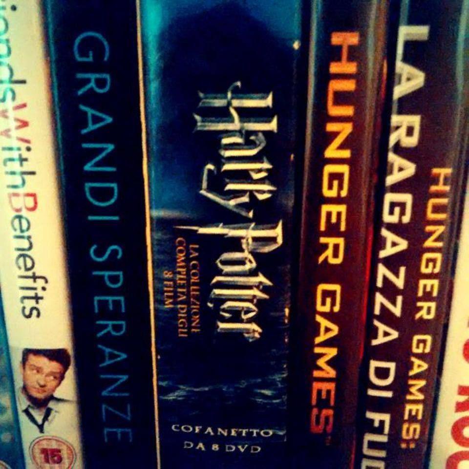 DVD: Harry Potter, Hunger Games :3