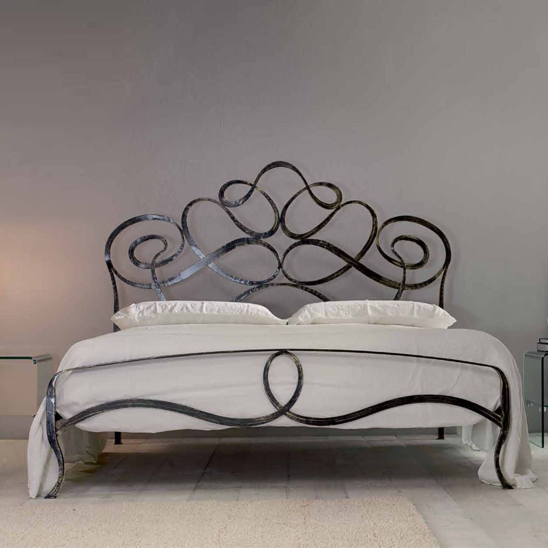 7 amazing iron decoration ideas wrought iron beds bed Decorative headboards for beds