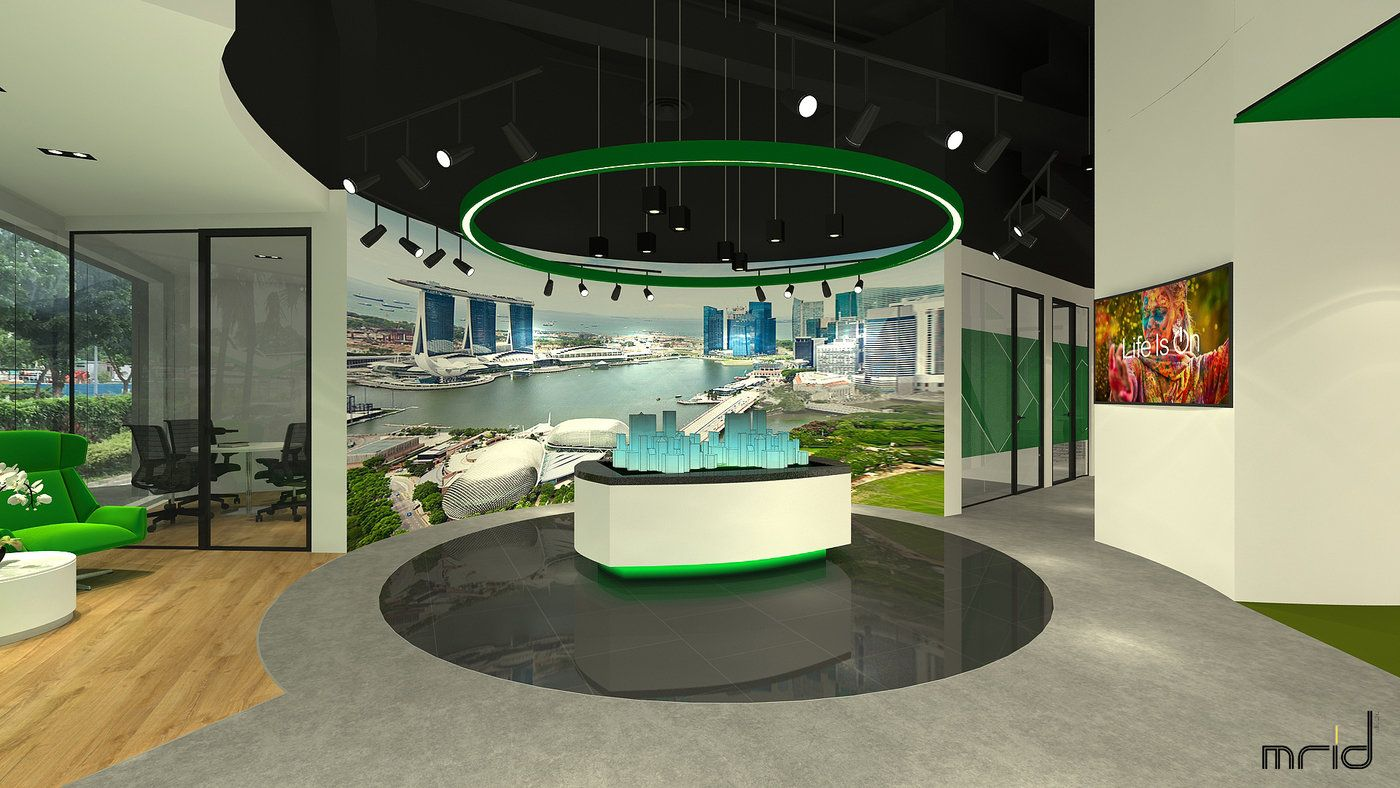 Schneider Electric Experience Centre Singapore By John Henry