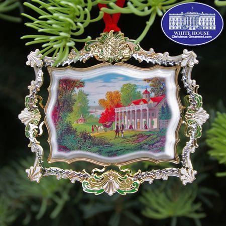 2020 Mount Vernon Christmas Ornaments 2012 Hospitality at George and Martha Washington's Mount Vernon
