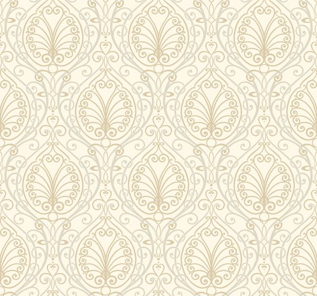 Candice Olson Office Design: Paisley Wallpaper By Candice Olson