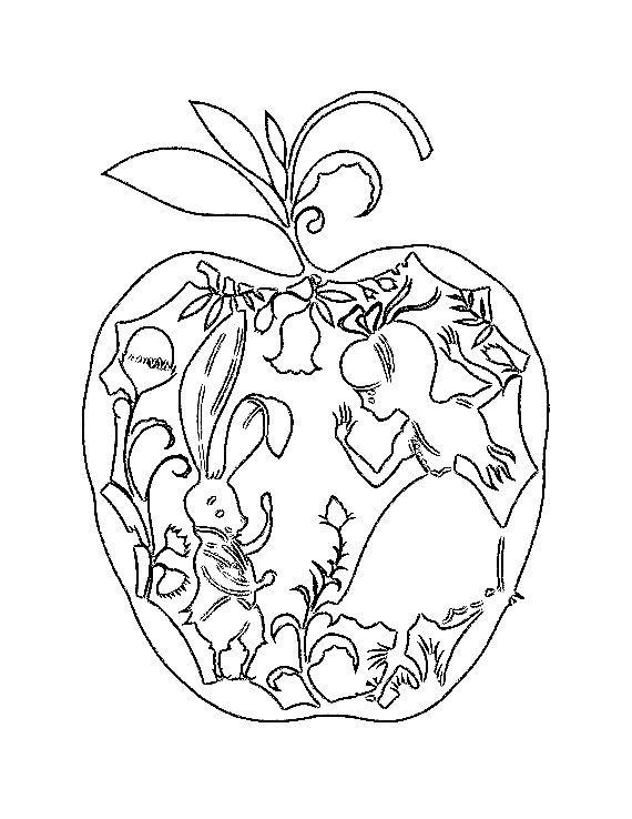 яблоко вырезалки летние яблоки