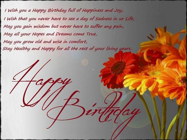 cute birthday wishes Birthdays and Verses - best wishes in life