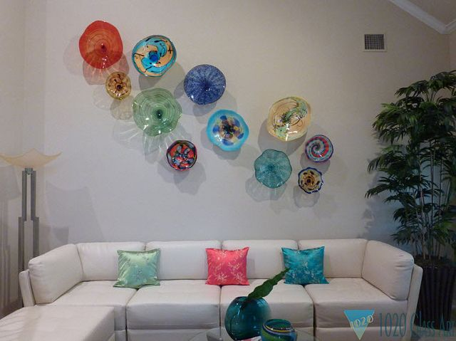 Incroyable Blown Glass | Wall Art Glass Installation   Euless, TX | Flickr   Photo  Sharing