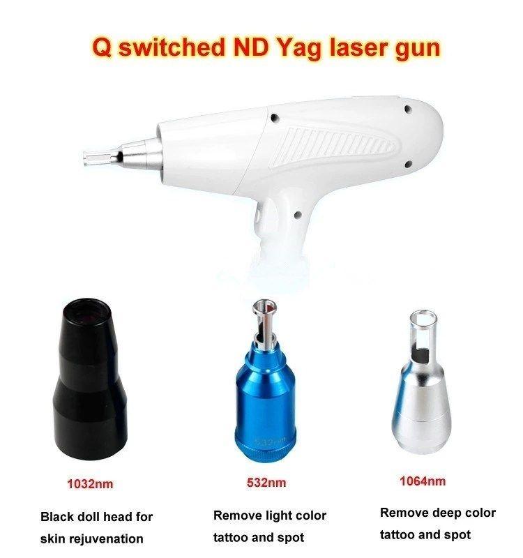 Opt Shr Ipl Rf Nd Yag Laser 4 In 1 Remove Tattoo Optical Fiber