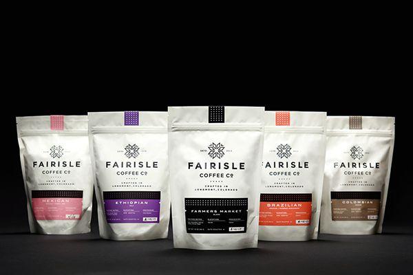 Fairisle Coffee Co. on Behance | Package Design | Pinterest ...