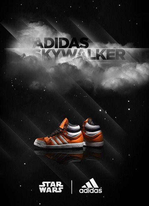 Star Wars Adidas Originals ad campaign | Star wars, Adidas