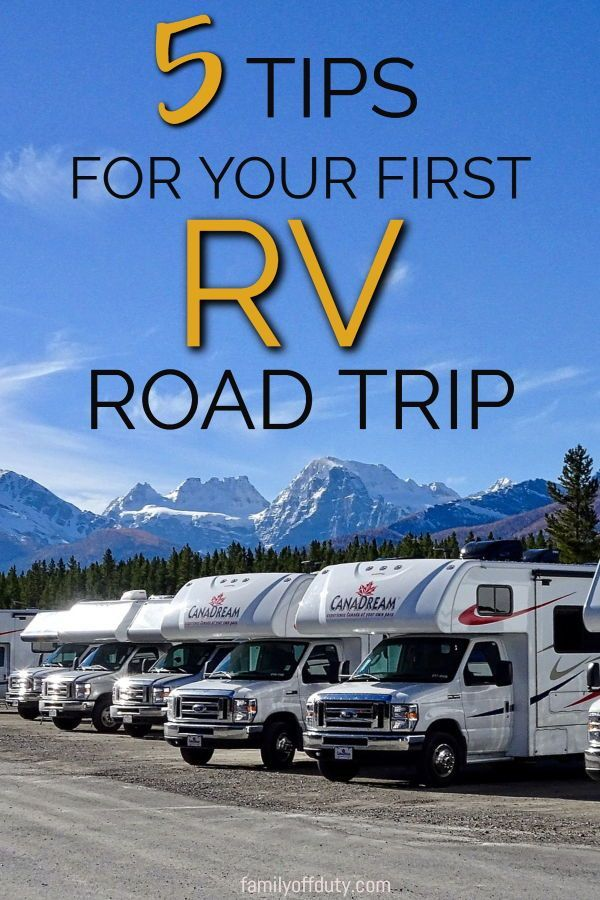 Our First Time RV Rental - Tips and Insights First timer RVer? Check out these RV tips for your fir