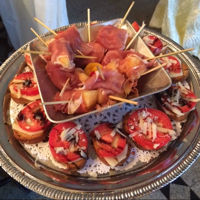 Delicious food all within our Wedding Weekend Packages