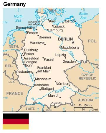Map Of Germany Germany Pinterest Germany Germany Travel And