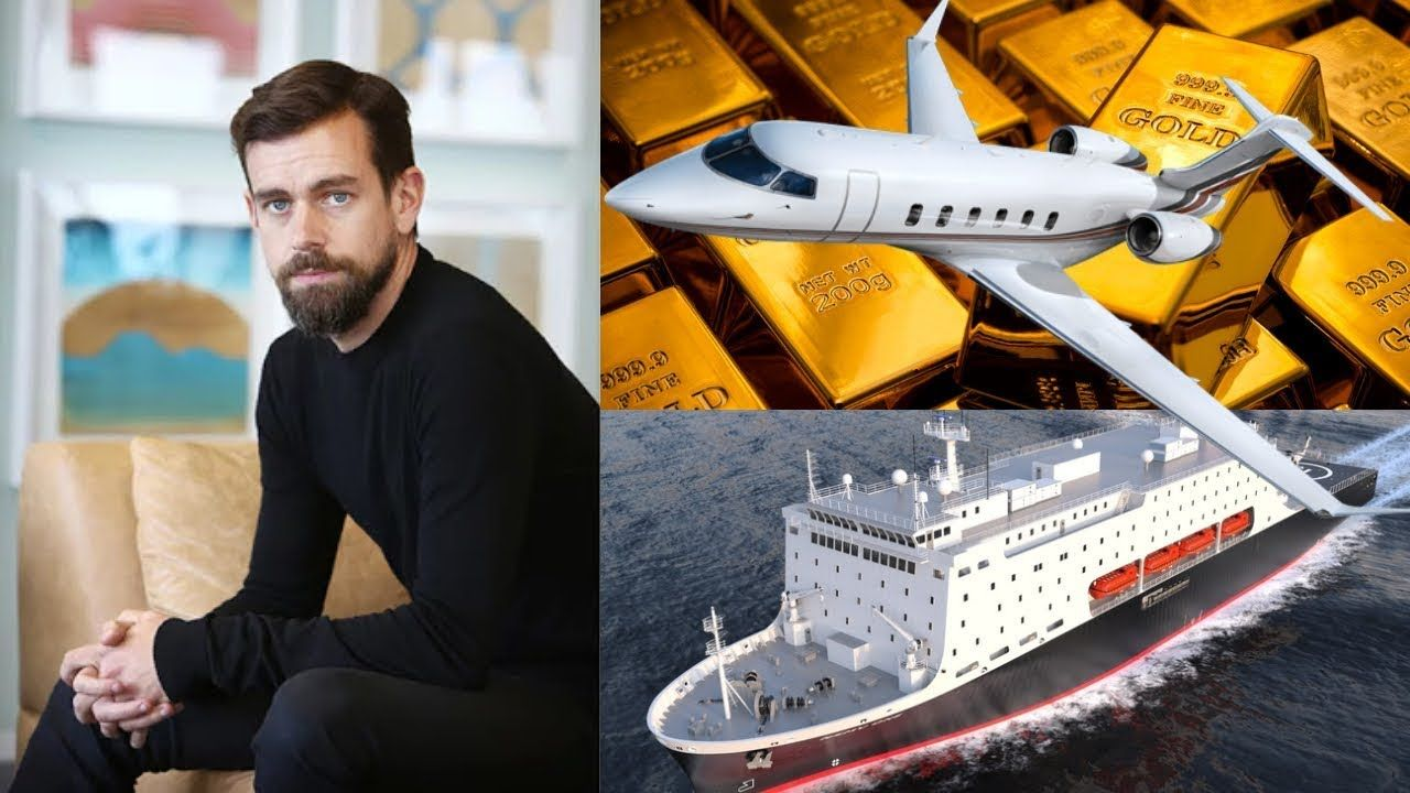 ○Jack Dorsey○(CEO of Square & Twitter )☆2018 Rich
