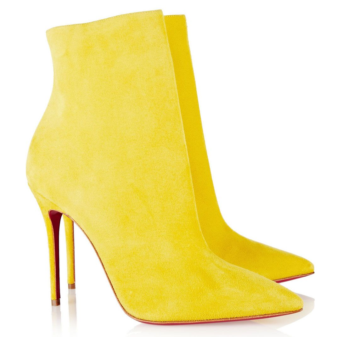 the best attitude e9f4d b5244 Christian Louboutin So Kate Booty 100mm Suede Ankle Boots ...