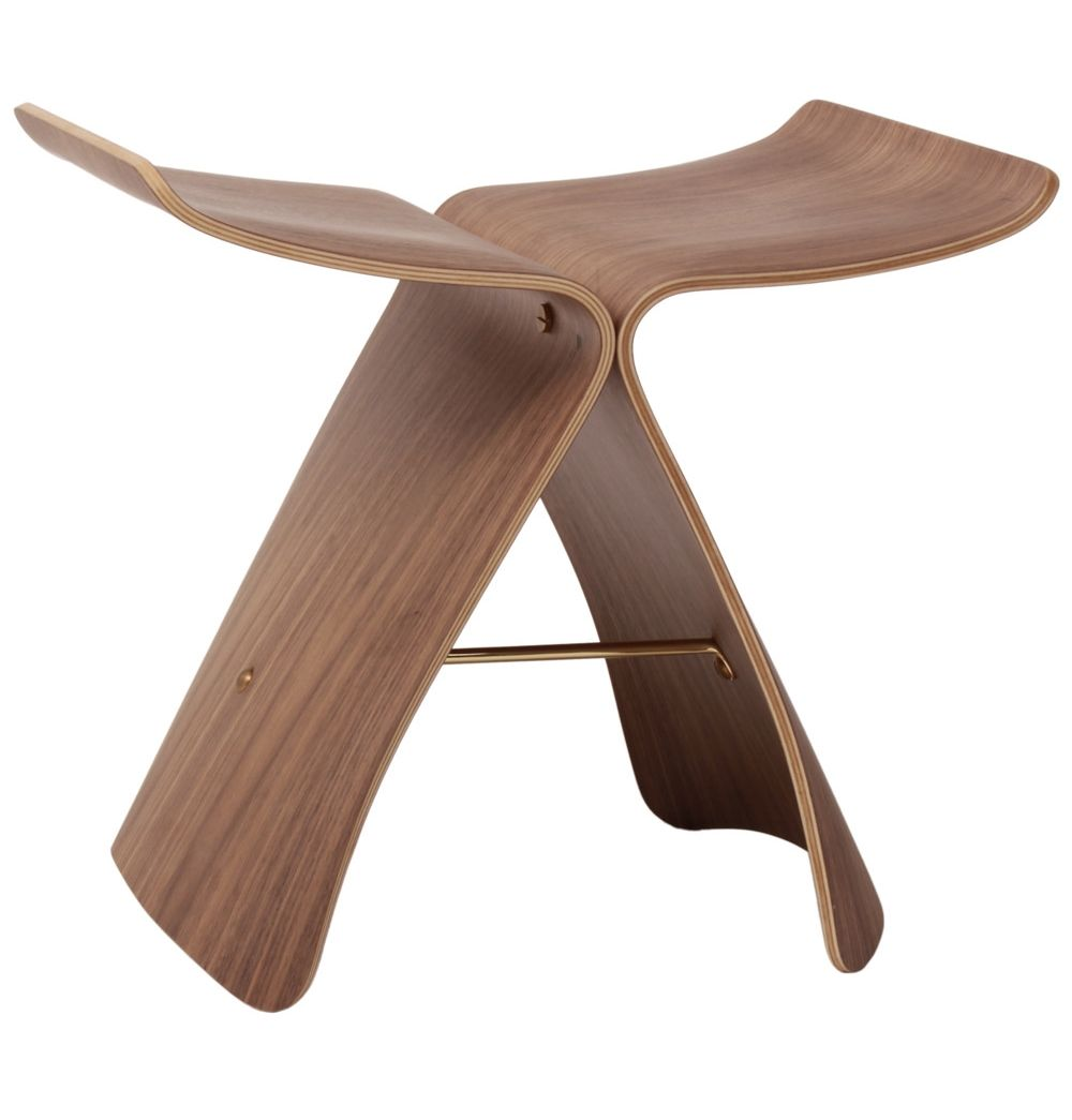 Butterfly chair sori yanagi - Replica Sori Yanagi Butterfly Stool Premium Version By Sori Yanagi Matt Blatt