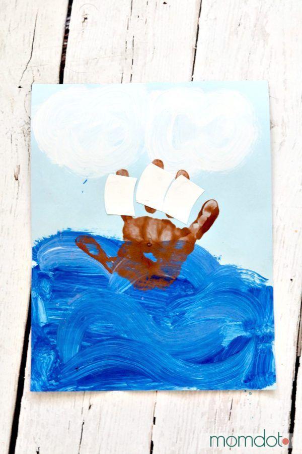 Christopher Columbus Handprint Kids Activity Preschool Crafts Fall Handprint Art Classroom Holiday Crafts