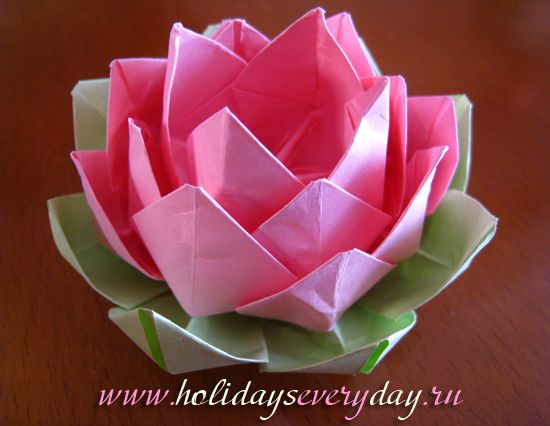 Origami lotus flower tutorial hanmade pinterest origami origami lotus flower tutorial mightylinksfo