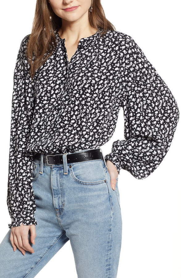 c136544dc Something Navy Easy Volume Top   Products in 2019   Something navy ...