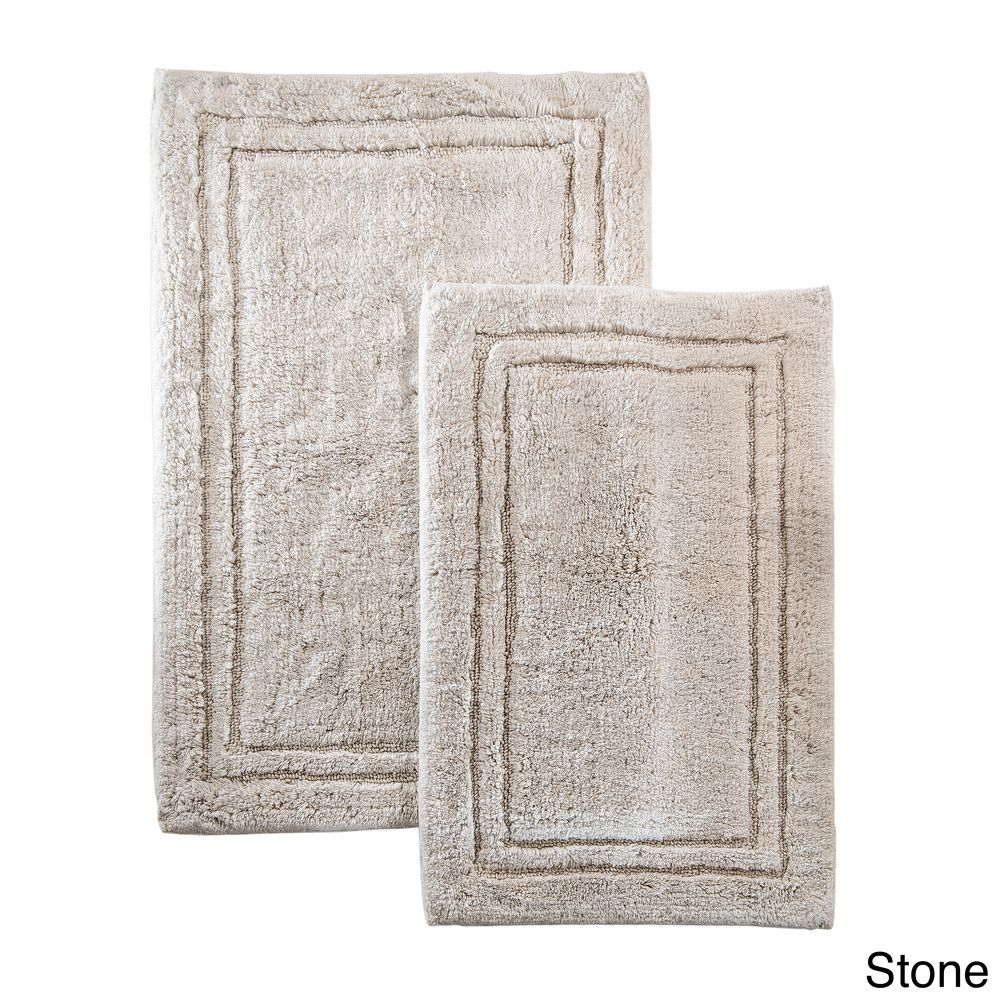 Superior Collection Cotton Non-skid Bath Rugs (Set of 2) | Overstock.com Shopping - The Best Prices on Bath Rugs