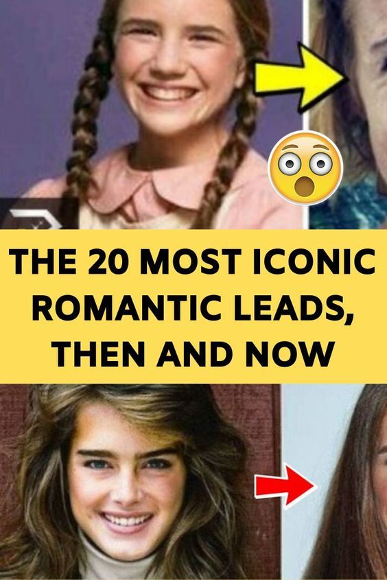 The 20 Most Iconic Romantic Leads, Then and Now