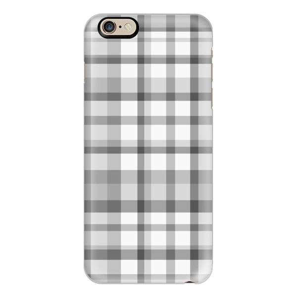 Gray Plaid - iPhone 6s Case,iPhone 6 Case,iPhone 6s Plus Case,iPhone 6... (£31) ❤ liked on Polyvore featuring accessories, tech accessories, iphone case, iphone cover case, slim iphone case, clear iphone cases, iphone cases and apple iphone cases