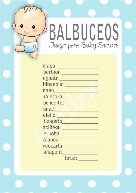 Balbuseo Babyshower Ideas Girls N Boys Pinterest
