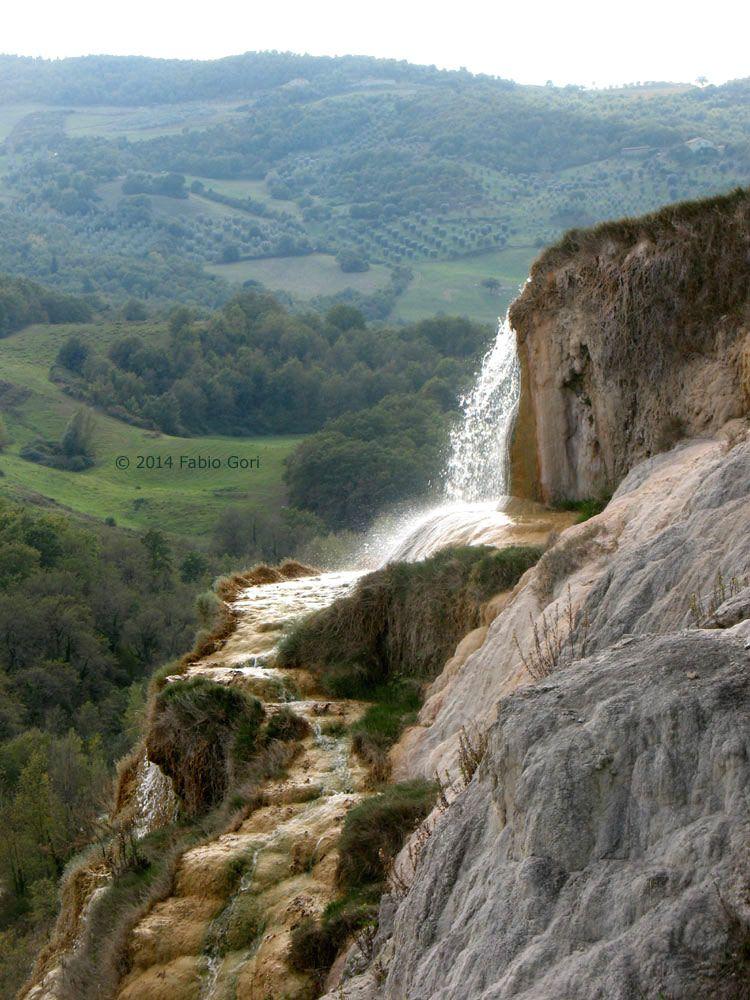 bagno vignoni, cascata